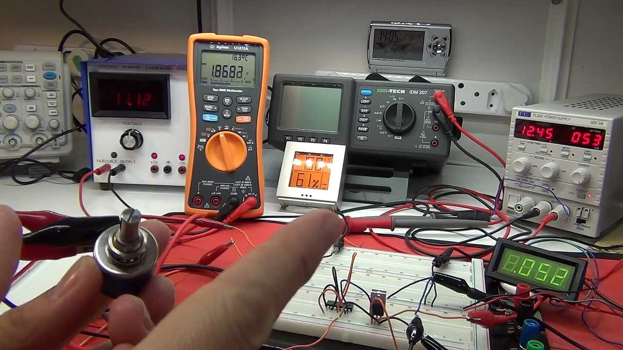 Electronic Constant Current Dc Load 2 How Does The Circuit Work Adjustable Workand Tweaks Youtube