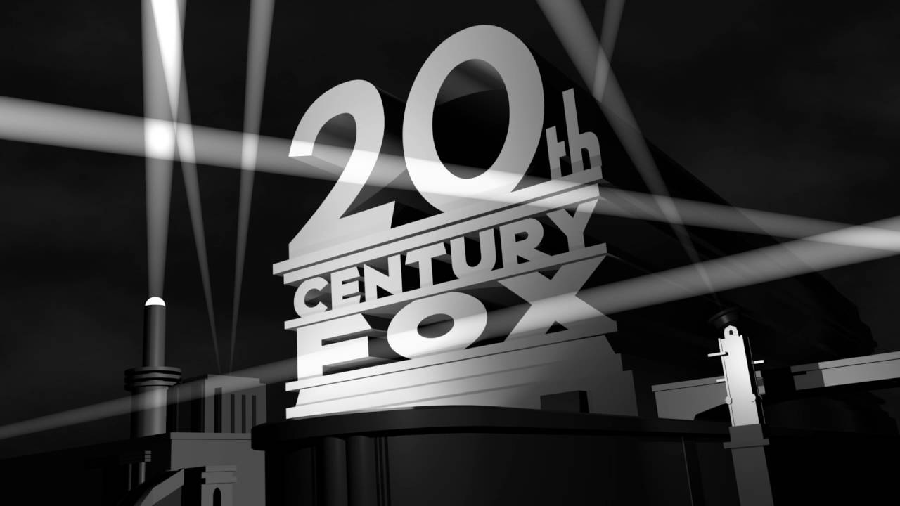 20th Century Fox Logo 1935 Remake  Black-and-white  By Ethan1986media