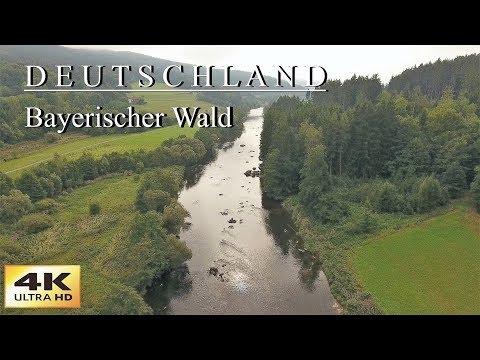 4K Wunderschönes Deutschland-Bayerischer Wald 1. Teil mit der DJI Phantom 4
