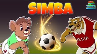 Simba Jr To The World Cup - Full Movie | Animated Movie For Kids in Hindi | Wow Kidz Movies
