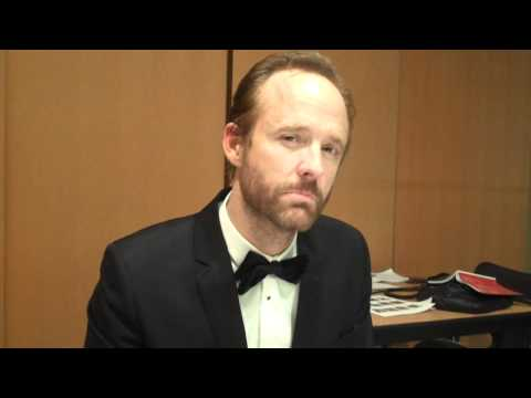 Back Stage with John Benjamin Hickey at the 2011 Tony Awards