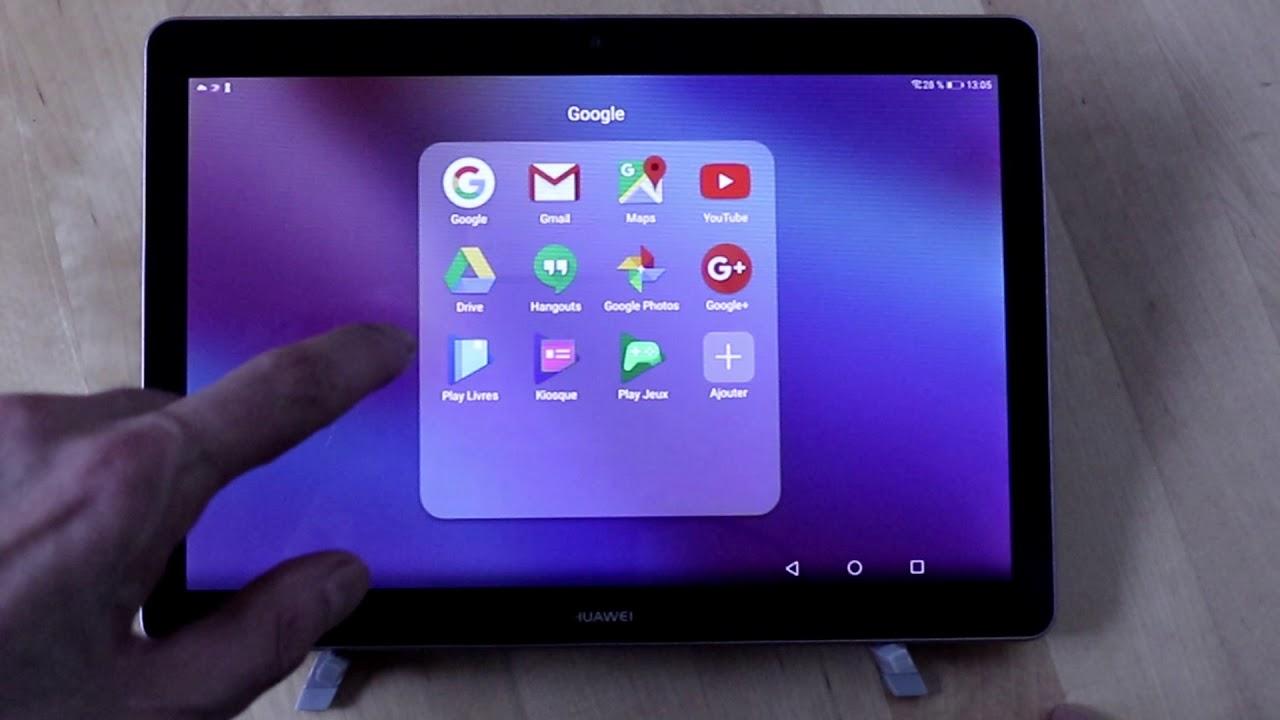 Test Express De La Huawei Mediapad T3 10 Youtube