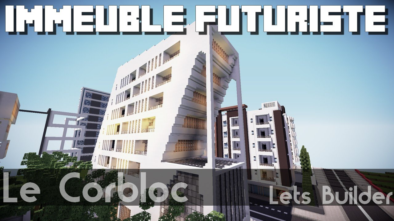 Minecraft immeuble moderne futuriste youtube - Immeuble moderne minecraft ...