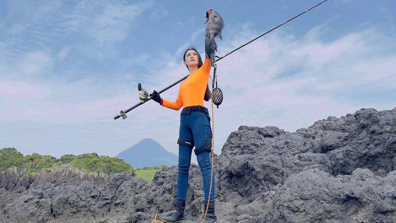 石鯛釣りで非常に珍しい出来事が…その映像に本人もビックリ!!!