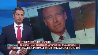 Brian Williams suspended without pay for 6 months