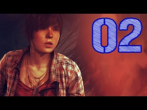 Let's Play Beyond Two Souls #02 Deutsch German - Party all the Time