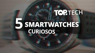 5 relógios inteligentes que você provavelmente não conhece [Top Tech]