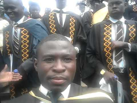 ERIC NANA AGYEMANG GRADUATES FROM THE UNIVERSITY OF GHANA.