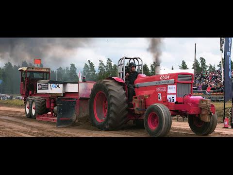 Tibro Bonnapulling 2017, Traktorpulling