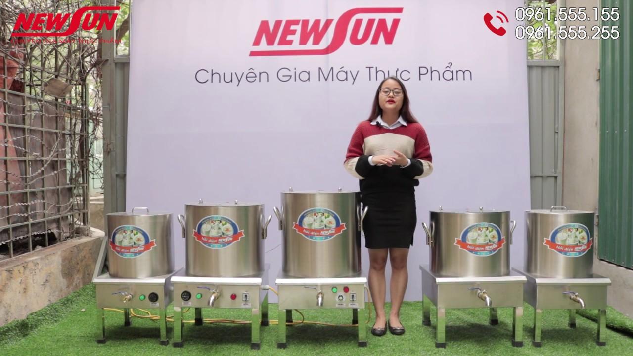 Bộ Nồi Nấu Bún Phở, Nước Dùng Inox Dùng Điện Giá Rẻ I Điện Máy NEWSUN