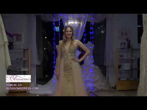26c2c61ecb2 Blossom s Prom Dress - Jovani JVN41677 - YouTube