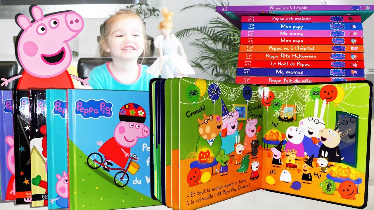 Collection De Livres Peppa Pig Unboxing Youtube