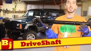 Double Cardan Driveshaft Info and Install