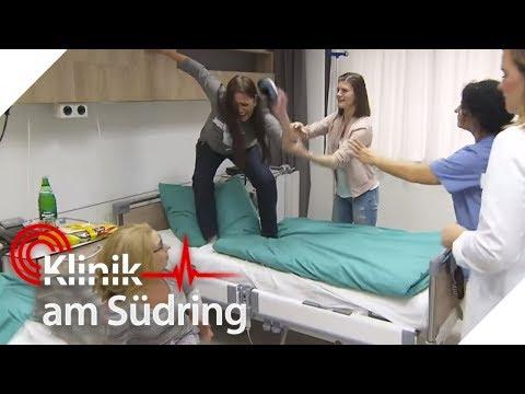 Frau in Panik: Warum wird sie von Spinnen verfolgt? | Klinik am Südring | SAT.1 TV
