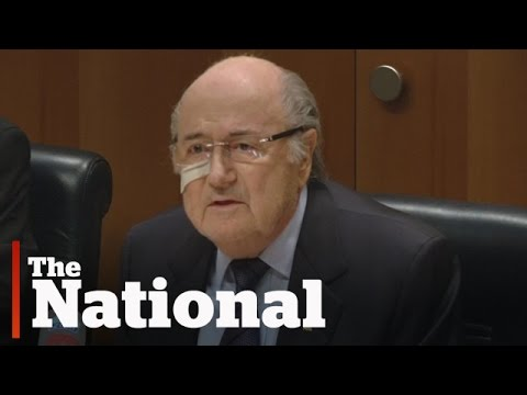 FIFA bans Sepp Blatter for eight years