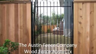 Wood Fence Austin Texas.wmv