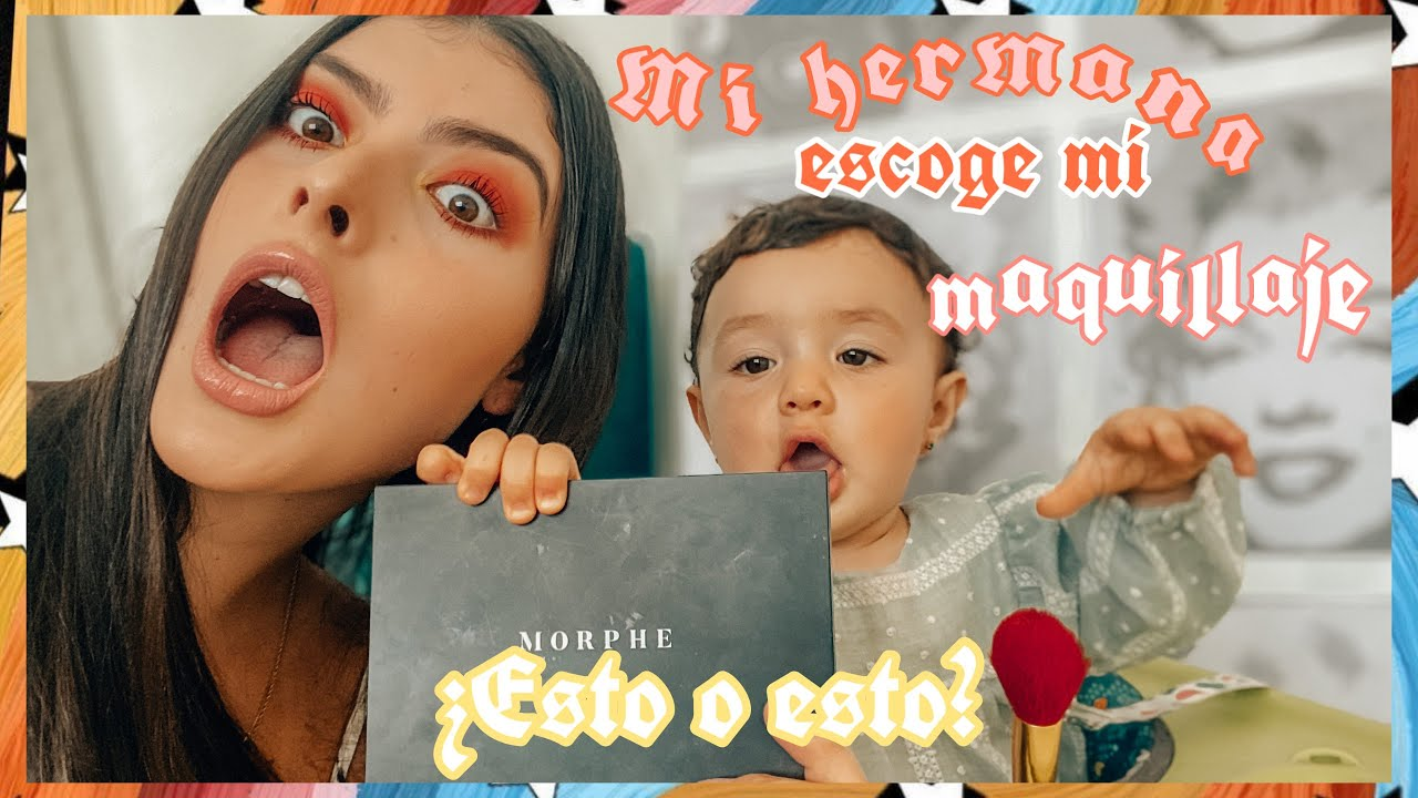 BEBÉ DE 9 MESES ESCOGE MI MAQUILLAJE I Manuela Giraldo