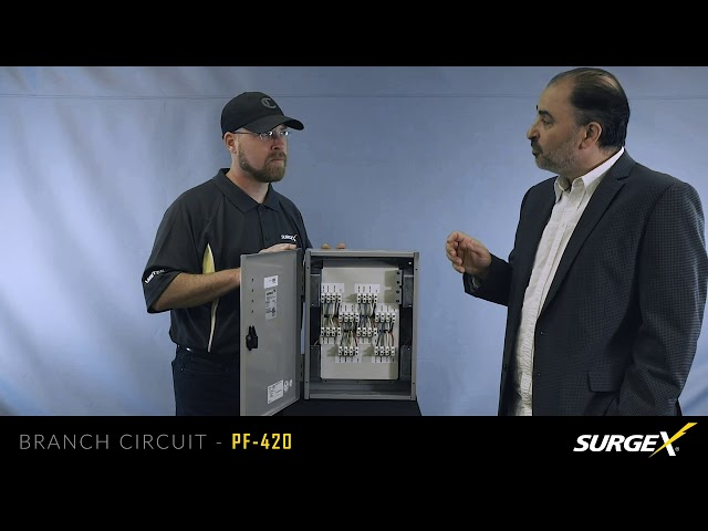SurgeX PF 420 Branch Circuit Power Protection Overview
