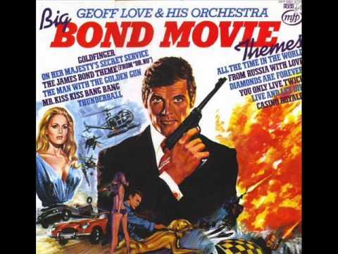 Great/Big Bond movie themes.  The Man With The Golden Gun.   Geoff Love.