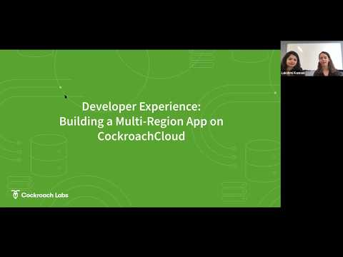 How to build a Multi-Region Application on CockroachCloud