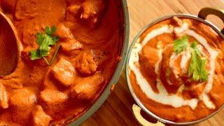 BEST BUTTER CHICKEN RECIPE | How To Make Delhi Restaurent Style Butter Chicken Instant