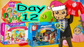polly pocket playmobil holiday christmas advent calendar day 12 toy surprise opening video