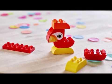Lego Duplo Klocki Moja Pierwsza Papuga 7el Youtube