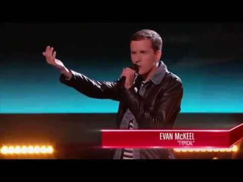 The Voice USA 2015 -  Best Blind Audition - Evan McKeel Performs Typical