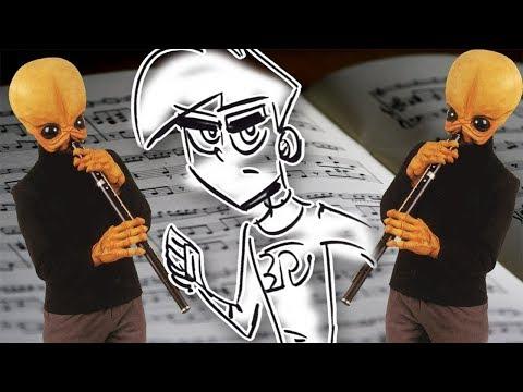 'Cantina Theme' Played by Drawing a Cartoon... Danny Phantom! (Pencil Girl Homage) | Butch Hartman