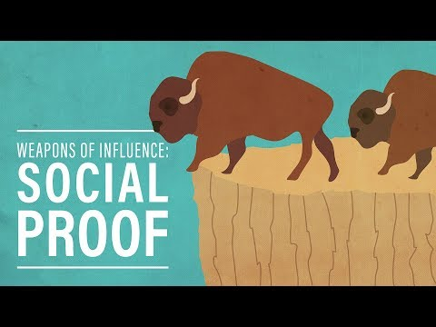 Weapons of Influence #3: Social Proof