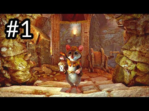 Ghost Of A Tale - Gameplay Walkthrough (Cutest Mouse Ever In Stealth RPG 2018)
