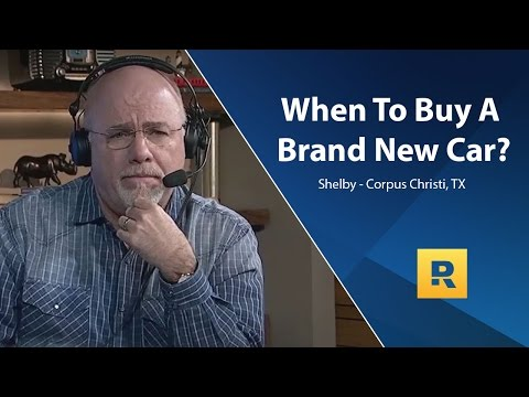 When Does It Make Sense To Buy A Brand New Car?