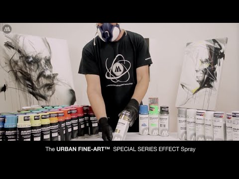 MOLOTOW™ Product Sessions #12 - URBAN FINE-ART™ Special Series EFFECT