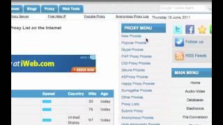 Free Proxy Sites