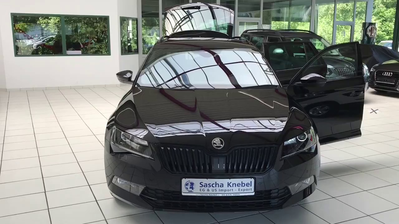 sascha knebel skoda superb combi sportline black magic perleffekt youtube. Black Bedroom Furniture Sets. Home Design Ideas