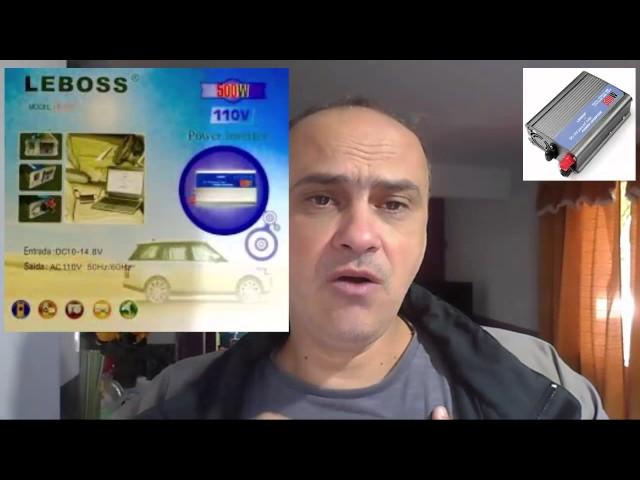 Inversor testado aprovado e indicado pelo Professor Marcelo Moraes