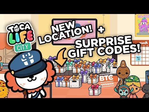 Toca Life: City [UPDATE] New Location + Gift Codes