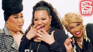 I did makeup on HIP HOP ICONS Salt-N-Pepa | PatrickStarrr