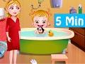Cleaning Games for Girls| Baby Hazel Toddler Playing, Brushing, Bathing Dressing,  Eating