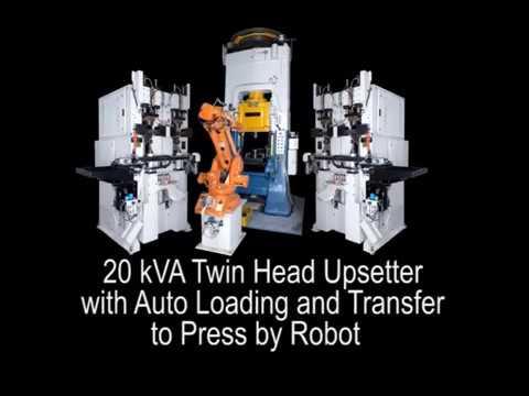 Maschinen für Reibschweißen, elektrisches Stauchen (Metallsammeln), Motorventile, Prüfstände - ETA
