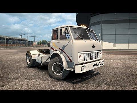 ОДИН ИЗ ЛУЧШИХ МОДОВ - МАЗ-500 - Euro Truck Simulator 2 (1.31.2.5s)