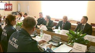 В правительстве региона состоялось заседание комиссии по предупреждению и ликвидации ЧС