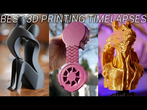 Satisfying 3D Print Time Lapses On the Creality Ender 3 3D Printer using octolapse