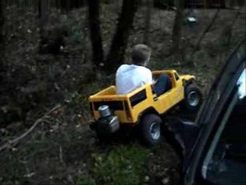 Mini Hummer Go Kart Off Roading Youtube