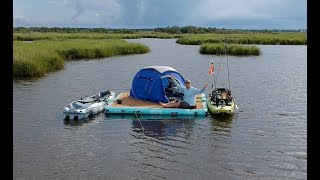Primitive water camping | oฑ my own personal island