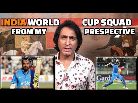 India's WC Squad from my perspective   Ramiz Speaks