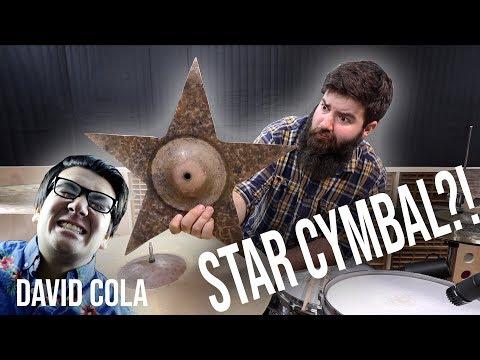Destroying David Cola's Crash Cymbal