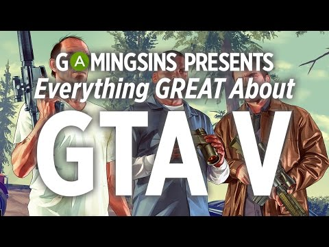 Everything Great About GTA V in 20 Minutes or Less | Gaming Wins