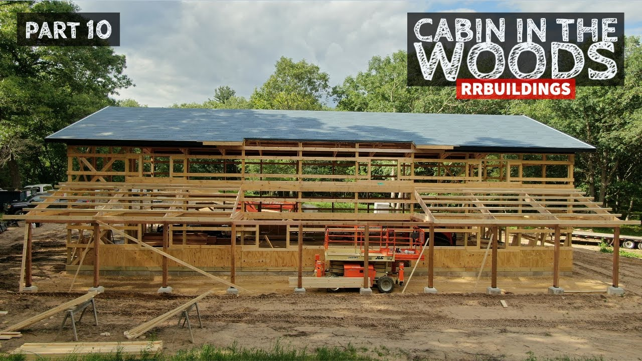 Cabin in the Woods Part 10: Cedar Porch Framing