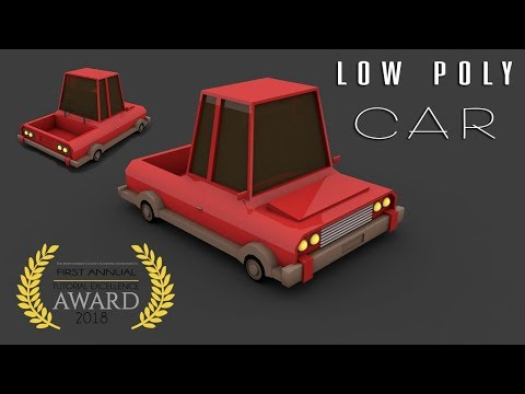 Cinema 4D Tutorial | Low Poly Car #02 | Professional Poly Modeling